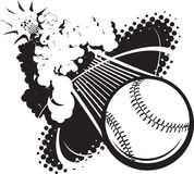 Sonic Boom Baseball Royalty Free Stock Images