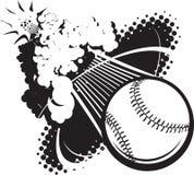 Sonic Boom Baseball Royalty Free Stock Images