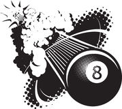 Sonic Boom Eight Ball Photos stock