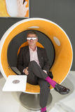 Sonic Chair, IFA Berlin Royalty Free Stock Images