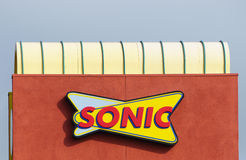 Sonic Drive-In Restaurant Stock Photo