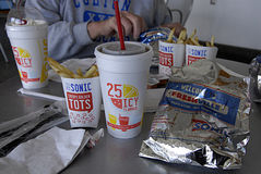 SONIC FAST FOOD CHAIN Royalty Free Stock Photos