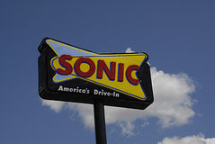 SONIC FAST FOOD CHAIN Royalty Free Stock Image