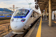 Sonic 885 a L:imited Express in Nagasaki Royalty Free Stock Image