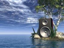 Sonido Foto de archivo libre de regalías