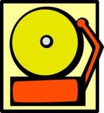 Sonido de alarma de escuela ilustración del vector