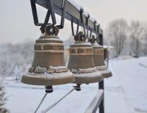 Sonido de campanas sagrado Fotografía de archivo