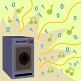 Sonido de Digitaces Imágenes de archivo libres de regalías