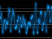 Sonido de Digitaces stock de ilustración