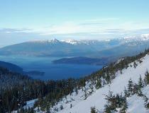 Sonido de Howe en invierno Imagen de archivo