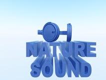 Sonido de la naturaleza Fotografía de archivo libre de regalías