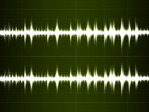 Sonido de la onda Foto de archivo
