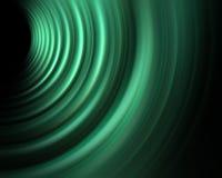 Sonido de la onda verde de la energía Imagen de archivo libre de regalías