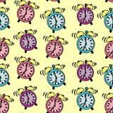 Sonido de los despertadores Imagen de archivo libre de regalías