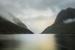 Sonido dudoso, Nueva Zelandia Imagen de archivo