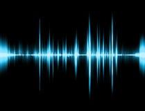 Sonido gráfico Fotografía de archivo