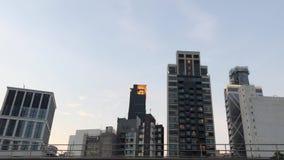 Sonido ruidoso del cuervo en zona urbana, Hong Kong