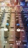 Sonidos del teclado foto de archivo libre de regalías