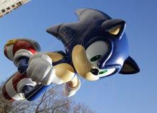 Sonische ballon in de parade van Macy Royalty-vrije Stock Fotografie