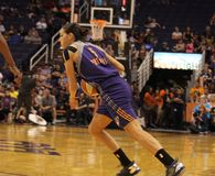 Sonja Petrovic. Forward for Phoenix Mercury   at Talking Stick Resort Arena 9-11-16 Stock Photos