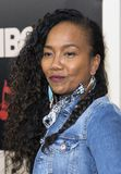 Sonja Sohn. Actress Sonja Sohn arrives for the New York premiere of HBO`s multi-part drama, `The Deuce,` The dramatic series follows the story of the Royalty Free Stock Photography