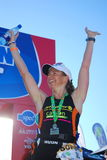 Sonja Tajsich, Ironman SA 2010 Stock Photo