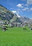 Sonlerto, Val Bavona, cantão de Ticino, Suíça Fotos de Stock Royalty Free