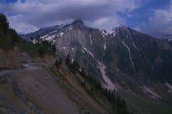 Sonmarg风景在克什米尔14 免版税库存照片