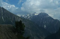 Sonmarg krajobraz w Kashmir-15 Obrazy Stock