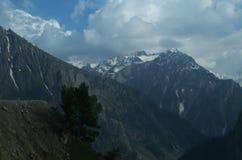 Sonmarg landskap i Kashmir-15 Arkivbilder