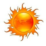 Sonne Stockfotografie
