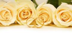 sonne des roses wedding Photo stock