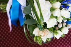 Sonne le blanc de rouge bleu de bouquet Image stock