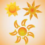 Sonnen   Lizenzfreies Stockbild