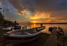 Sonnen des Sonnenuntergangs stockfoto