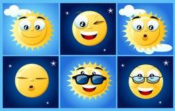 Sonnen und Monde