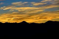 Sonnenaufgänge in Alishan Taiwan Stockfotos