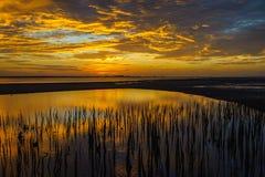 Sonnenaufgänge morgens Himmel, Wolken und schönes Lizenzfreie Stockbilder