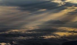 Sonnenaufgang Österreich Lizenzfreies Stockfoto