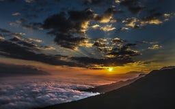 Sonnenaufgang Österreich Stockbilder