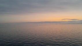 Sonnenaufgang über Brabant-Insel, Gerlache-Straße, die Antarktis stock video footage