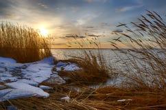 Sonnenaufgang über dem Meer Lizenzfreie Stockfotografie