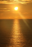 Sonnenaufgang über dem Ozean 5 Lizenzfreie Stockbilder