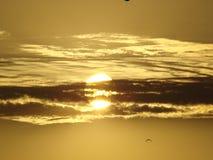 Sonnenaufgang über dem Schwarzen Meer Lizenzfreies Stockfoto