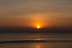 Sonnenaufgang über Meer Stockbilder