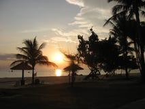 Sonnenaufgang über Südchinesisches Meer Lizenzfreie Stockfotos