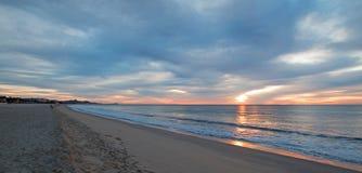 Sonnenaufgang über Strand in San Jose Del Cabo in Baja California Mexiko Stockbild