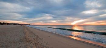 Sonnenaufgang über Strand in San Jose Del Cabo in Baja California Mexiko Lizenzfreies Stockbild
