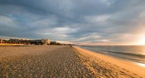 Sonnenaufgang über Strand in San Jose Del Cabo in Baja California Mexiko Lizenzfreie Stockfotografie