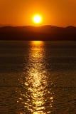 Sonnenaufgang 06 stockbild